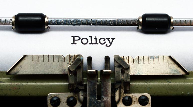 Music licensing policy on typewriter